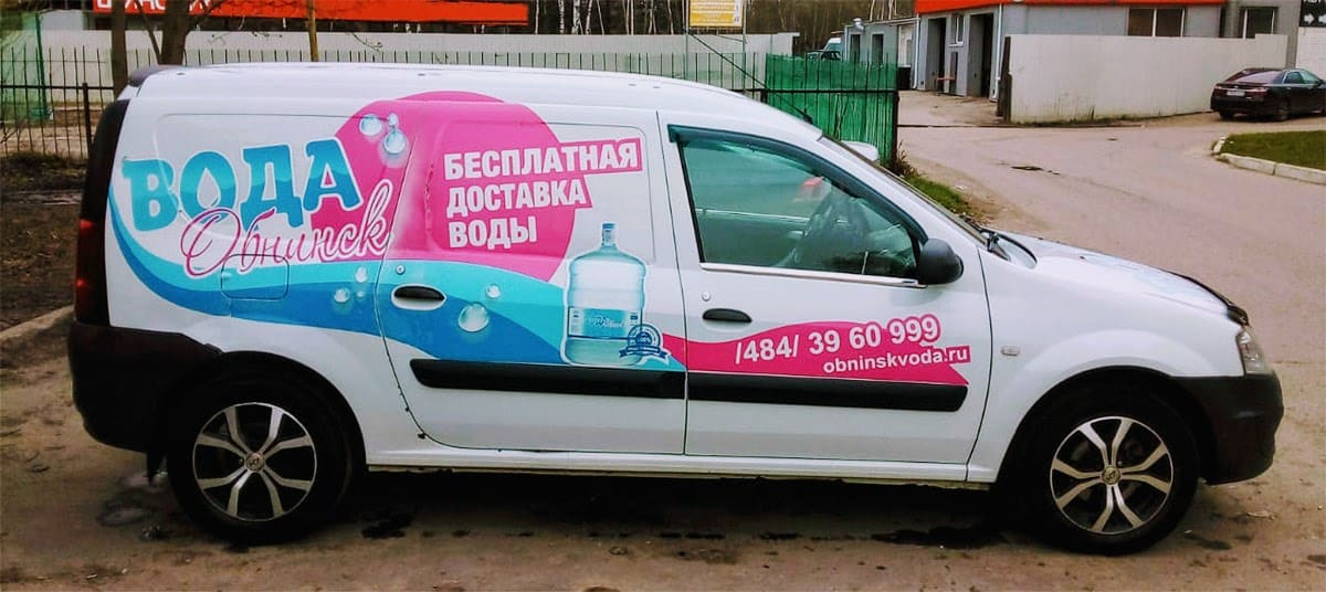 Вода Обнинск: Доставка и оплата