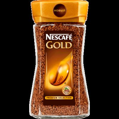 Вода Обнинск: Nescafe Gold (190г.)