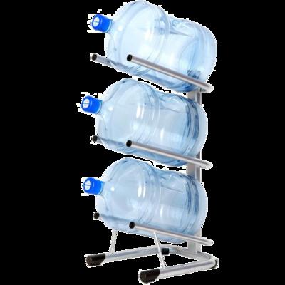 Вода Обнинск: Стеллаж - подставка для 3 бутылей