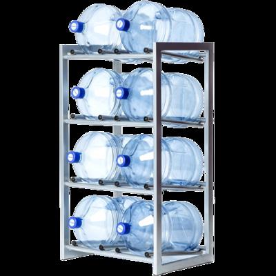 Вода Обнинск: Стеллаж - подставка для 8 бутылей