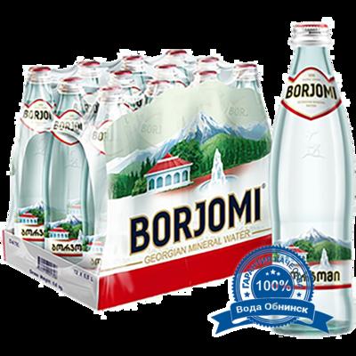 Вода Обнинск: Вода «Боржоми» 0,5 литра (12 шт.)