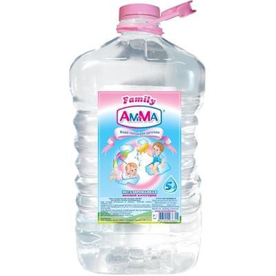 Вода Обнинск: Вода для детского питания «Ам-Ма» 5 литров