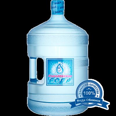 Вода Обнинск: Вода «Королевская вода» 19 литров