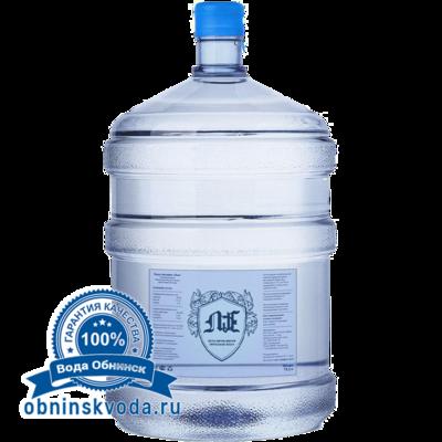 Вода Обнинск: Вода «Лье» 19 литров