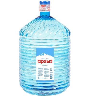 Вода Обнинск: Вода «Легенда гор Архыз» 19 литров (ПЭТ)