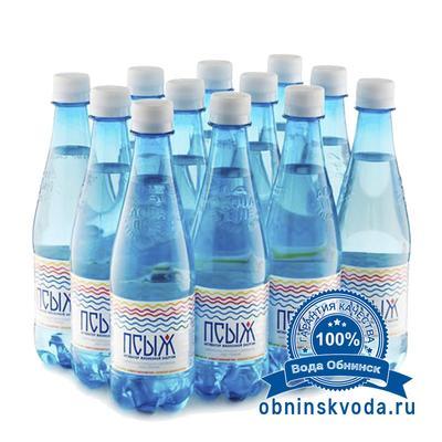 Вода Обнинск: Вода «ПСЫЖ» 0,45 литра (12 шт.)